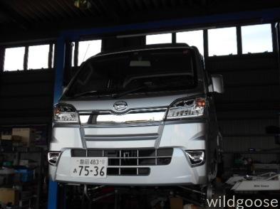 S510Pハイゼットトラック 2インチリフトアップ中(≧▽≦)_c0213517_15243447.jpg