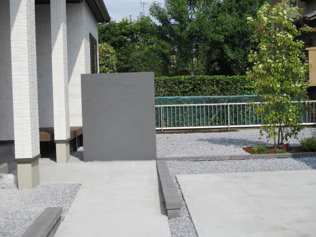 機能重視の外構工事 大泉町で完成!_e0361918_17324321.jpg