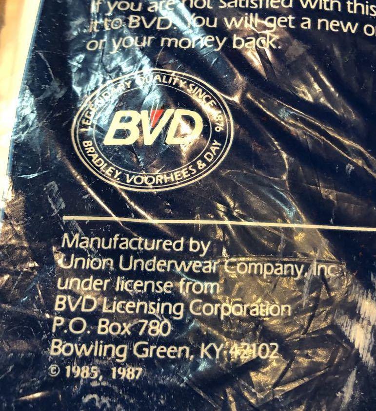 8月25日(火)入荷!MADE IN U.S.A  BVD Vネック 3枚パック Tシャツ!_c0144020_12581037.jpg