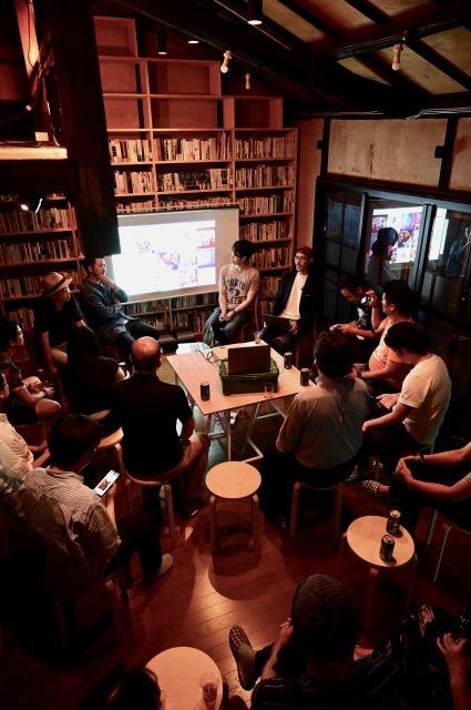 京都・大阪から3つのグループが集合「新アートコミュニティの挑戦」、スナック現美で!_b0165526_23565164.jpeg