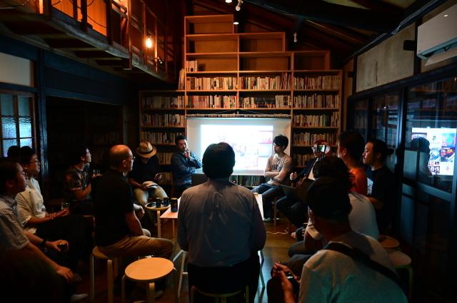 京都・大阪から3つのグループが集合「新アートコミュニティの挑戦」、スナック現美で!_b0165526_23571153.jpg