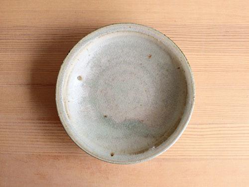 広川絵麻さんの5寸リム皿。_a0026127_19495842.jpg