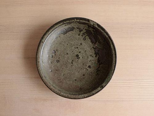 広川絵麻さんの5寸リム皿。_a0026127_19510893.jpg