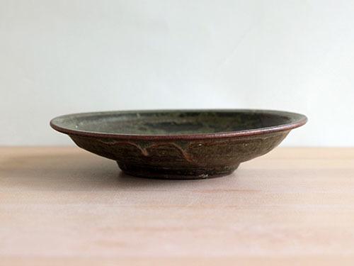 広川絵麻さんの5寸リム皿。_a0026127_19511491.jpg