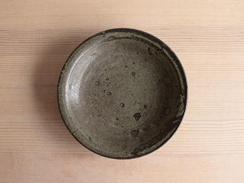 広川絵麻さんの5寸リム皿。_a0026127_19512709.jpg