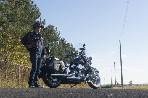 後藤 光義 & Harley-Davidson FLSTC(2018.11.03/OSAKI)_f0203027_13571152.jpg