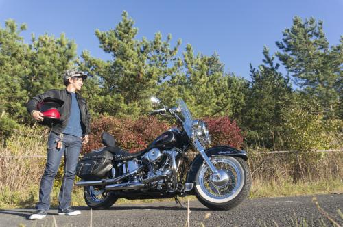 後藤 光義 & Harley-Davidson FLSTC(2018.11.03/OSAKI)_f0203027_13572895.jpg
