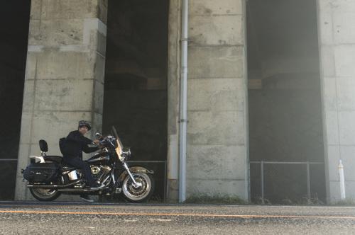 後藤 光義 & Harley-Davidson FLSTC(2018.11.03/OSAKI)_f0203027_13575388.jpg