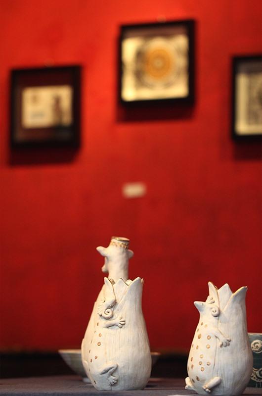 【佐藤ゆき×ミズタニカエコ 二人展「続・妙なる森」】 2019_b0186148_10260675.jpg