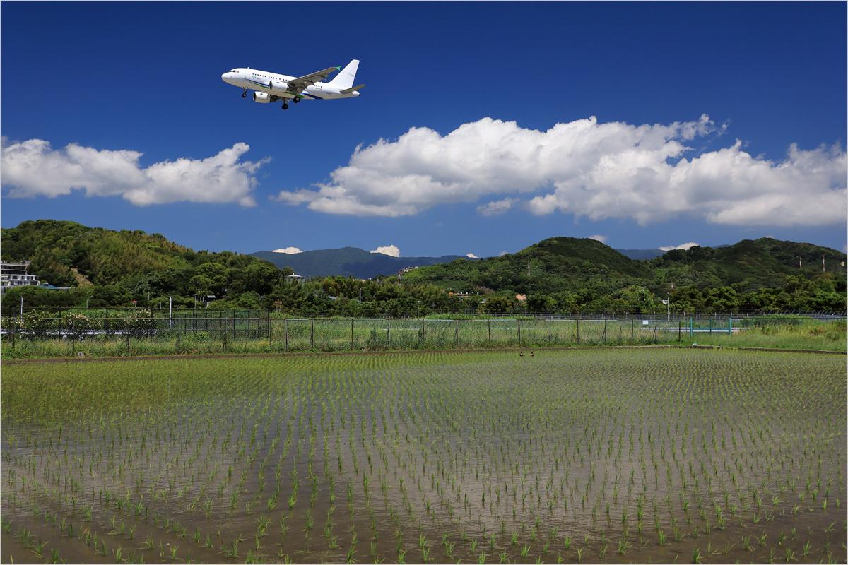 映える白 - 福岡空港_c0308259_17520707.jpg