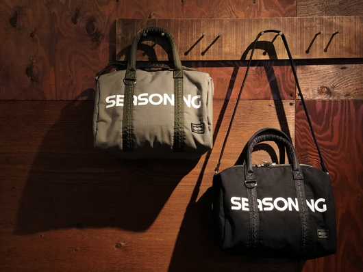 SEASONING × PORTER - MINI BOSTON Release._f0020773_19232670.jpg