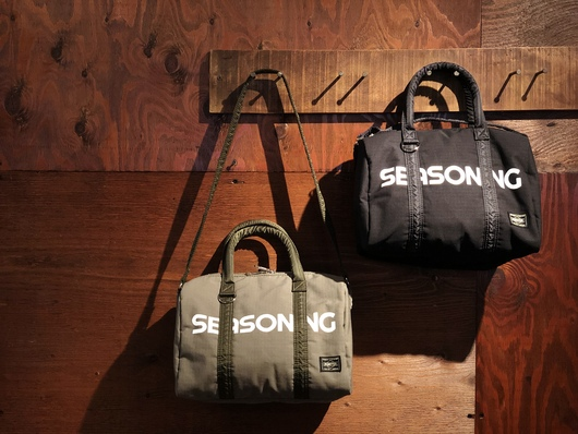 SEASONING × PORTER - MINI BOSTON Release._f0020773_1923411.jpg