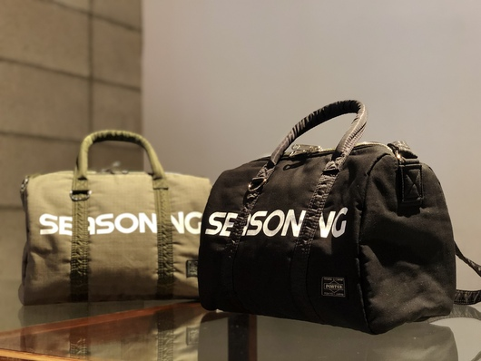 SEASONING × PORTER - MINI BOSTON Release._f0020773_192417.jpg