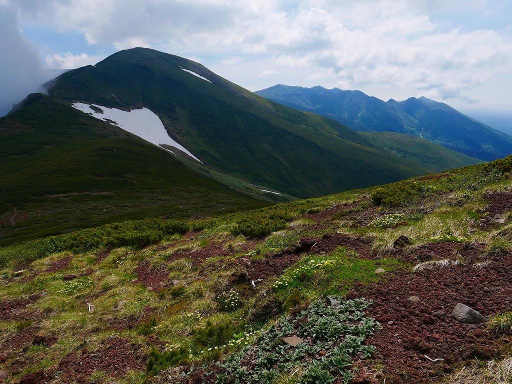 富良野岳、三峰山と上富良野岳、2019.6.24ー富良野岳編ー_f0138096_23485424.jpg