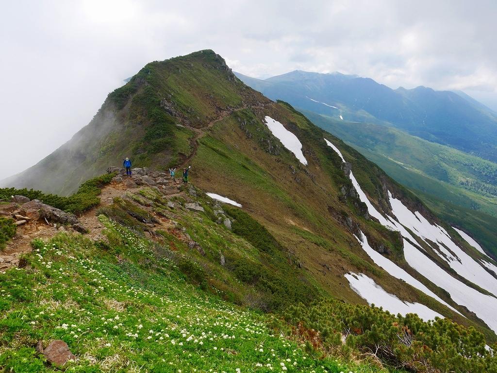 富良野岳、三峰山と上富良野岳、2019.6.24ー富良野岳編ー_f0138096_23492838.jpg