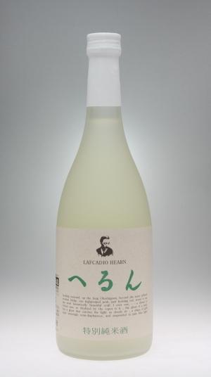 特別純米酒 へるん[金鳳酒造]_f0138598_20364869.jpg