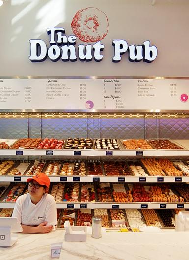 NYの老舗ドーナツ屋さん「ドーナツ・パブ」(The Donut Pub)が、突如、2号店⁉_b0007805_06273875.jpg