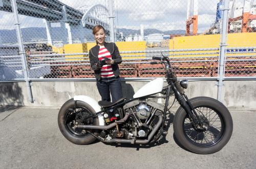 田村 千夏 & Harley-Davidson FXB(2018.10.14/KOBE)_f0203027_16253286.jpg