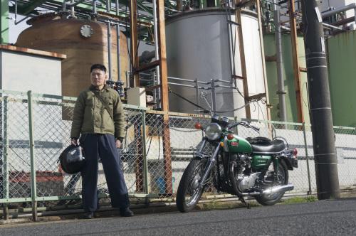 下里 彰宏 & YAMAHA XS1-B (2018.12.09/SOUKA)_f0203027_16461054.jpg