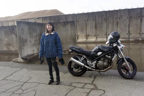 加々見 梨歩 & SUZUKI BANDIT250(2018.11.10/NUMAZU)_f0203027_16554420.jpg