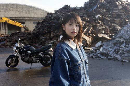 加々見 梨歩 & SUZUKI BANDIT250(2018.11.10/NUMAZU)_f0203027_16574368.jpg
