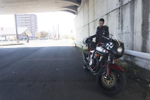 服部 謙太 & SUZUKI GSF1200(2018.11.25/FUKUSHIMA)_f0203027_17164598.jpg
