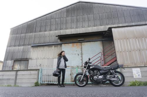 池上 千尋 & Kawasaki ZEPHYR750(2018.12.09/SOUKA)_f0203027_17414037.jpg