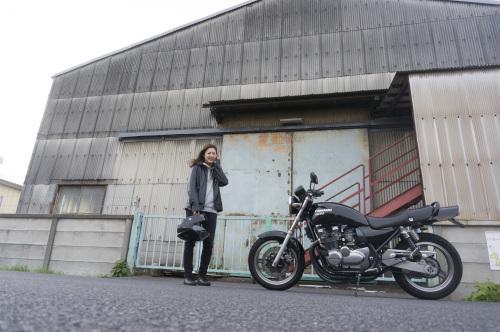 池上 千尋 & Kawasaki ZEPHYR750(2018.12.09/SOUKA)_f0203027_17414310.jpg