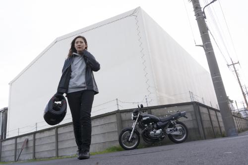 池上 千尋 & Kawasaki ZEPHYR750(2018.12.09/SOUKA)_f0203027_17424419.jpg