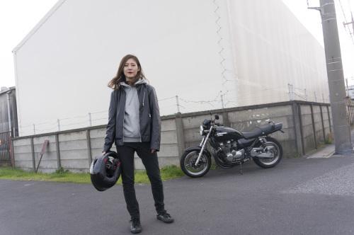池上 千尋 & Kawasaki ZEPHYR750(2018.12.09/SOUKA)_f0203027_17425073.jpg