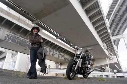 田辺 裕徳 & YAMAHA VMAX(2018.10.28/TOKYO)_f0203027_17473074.jpg