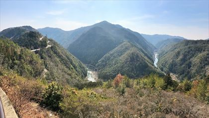 嵐山高雄パークウェイを走る_e0044657_22474376.jpg