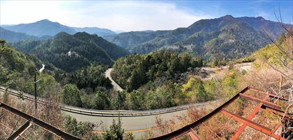 嵐山高雄パークウェイを走る_e0044657_22474645.jpg