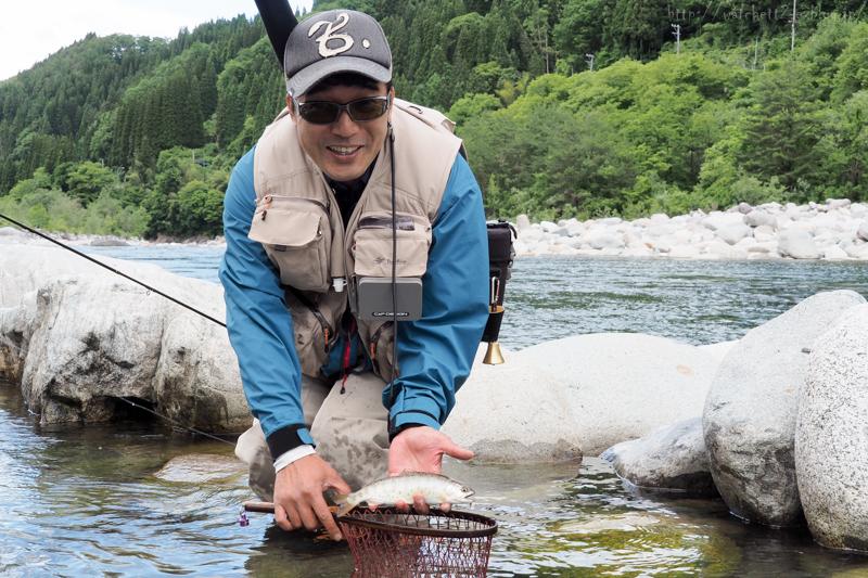 半分近くは釣り場で過ごしておりました‥_e0136764_20070041.jpg