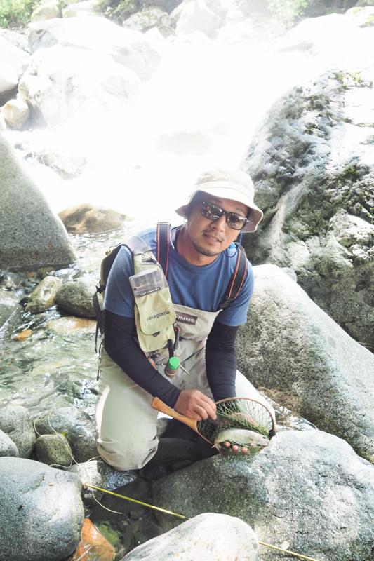 半分近くは釣り場で過ごしておりました‥_e0136764_20082661.jpg