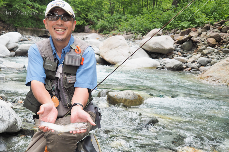 半分近くは釣り場で過ごしておりました‥_e0136764_20084205.jpg