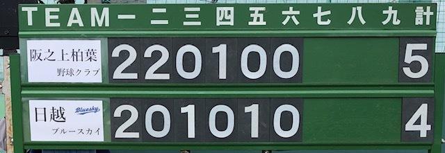 6月23日練習試合結果です!vs阪之上柏葉野球クラブさん_b0095176_18074496.jpeg