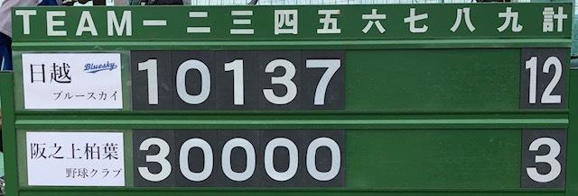 6月23日練習試合結果です!vs阪之上柏葉野球クラブさん_b0095176_18075312.jpeg