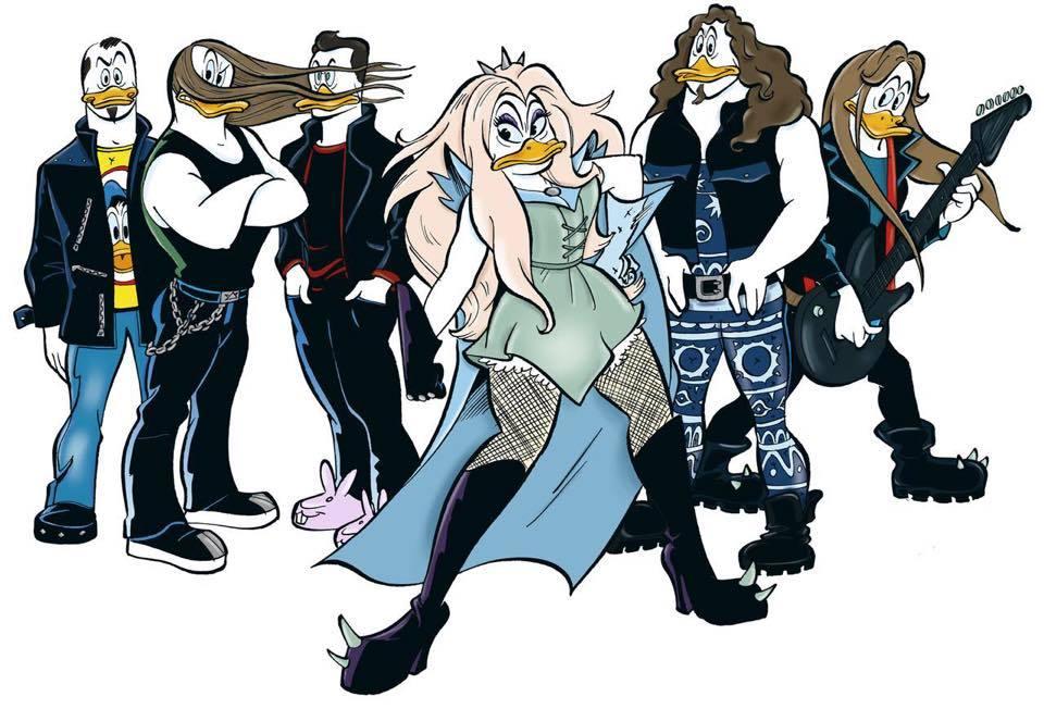 Amorphis、Stam1na、Battle Beastのメンバーがドナルドダックのキャラクターに_b0233987_22131129.jpg