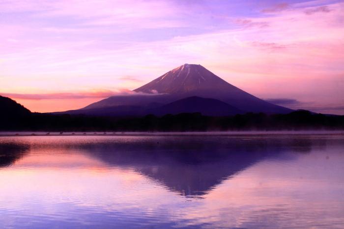 令和元年6月の富士(18)精進湖他手合浜の朝焼けの富士_e0344396_17332744.jpg