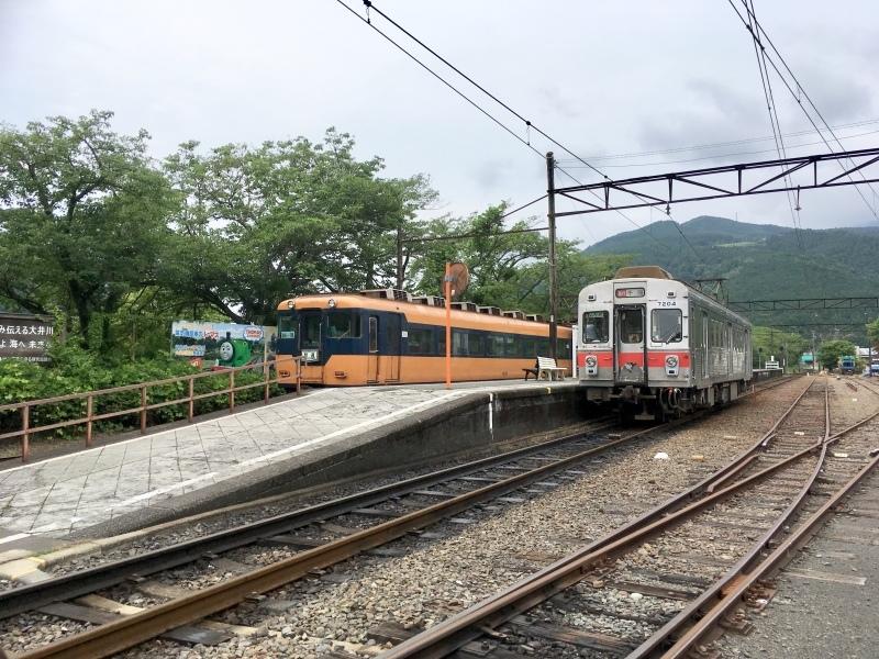 大井川鐵道、臨時急行の元東急7200系に乗車。_d0367998_12540549.jpeg