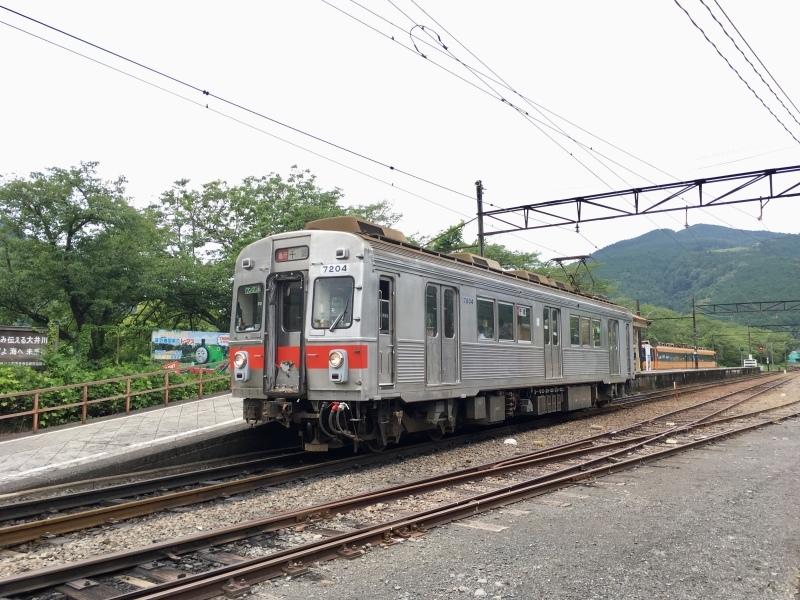 大井川鐵道、臨時急行の元東急7200系に乗車。_d0367998_12541842.jpeg