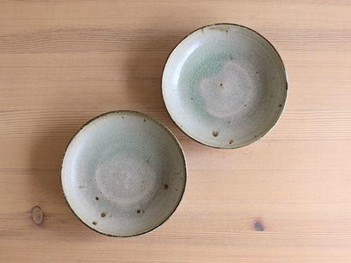 広川絵麻さんの5.5寸ぐらいのお皿。_a0026127_17303651.jpg
