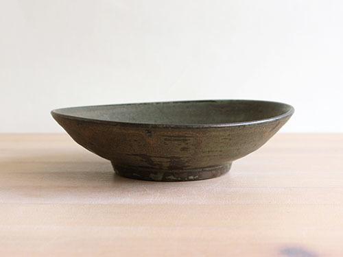 広川絵麻さんの5.5寸ぐらいのお皿。_a0026127_17402344.jpg