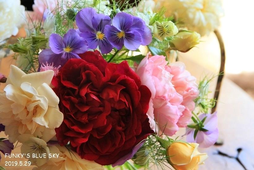 庭の小さなブーケ** (5月29日)_c0145250_10021884.jpg