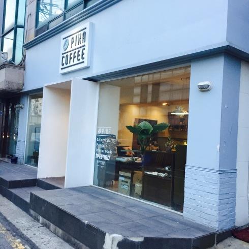 ひとりソウル旅 19 最後は大好きなカフェ「PIKA COFFEE」♪_f0054260_11094101.jpg