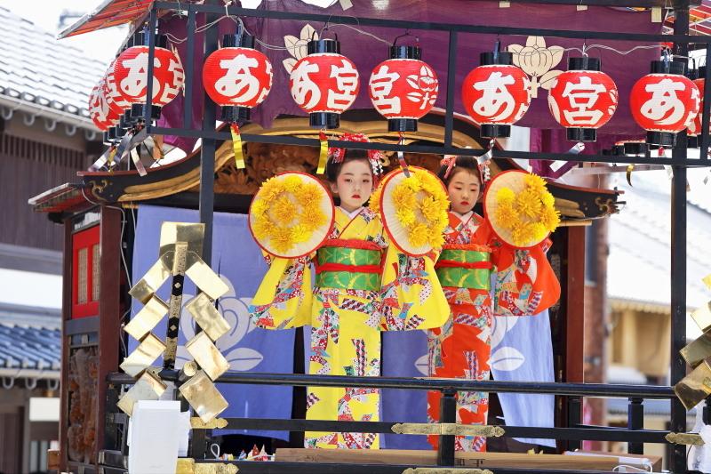 高浜七年祭 「赤尾の曳山芸能」_c0196076_13515581.jpg