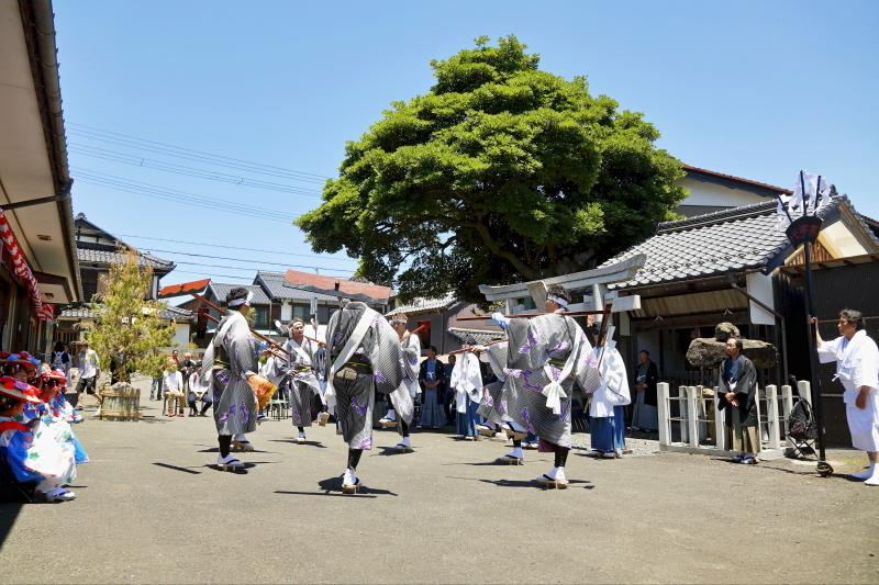 高浜七年祭 「事代のお田植」_c0196076_17544546.jpg