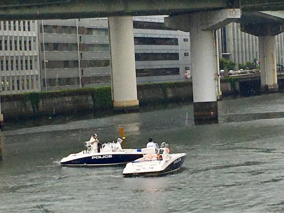 G20 堂島川のパトロール_d0339676_15475436.jpg