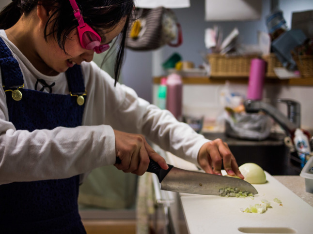 ★Daughter to fight with onions_e0291683_22074952.jpg